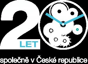 VGD – 20 let – logo – final – inverse no back
