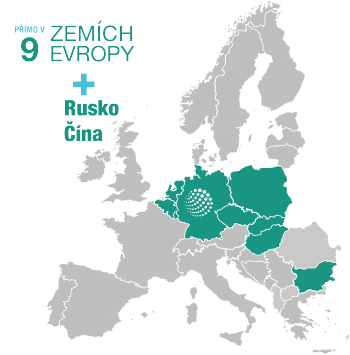 mapa Evropa_CZ